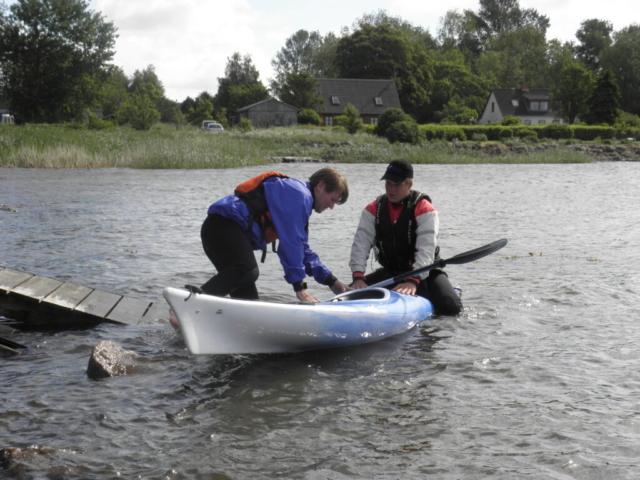 2012 - Tobias hjælper med indstigning